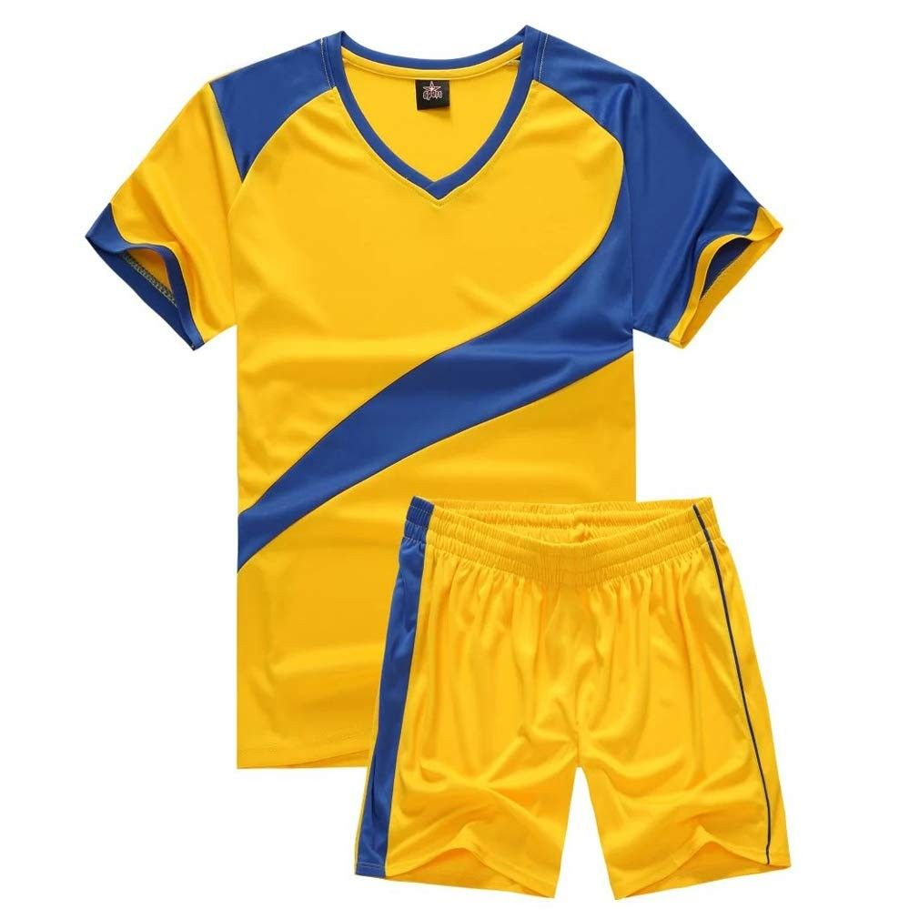 Kids Soccer Uniforms Boys Sport Jersey Shorts Set Short Sleeve Shirts For Girl Yellow Cp18iwwn3tl Size Small Soccer Uniforms Kids Soccer Shirts For Girls