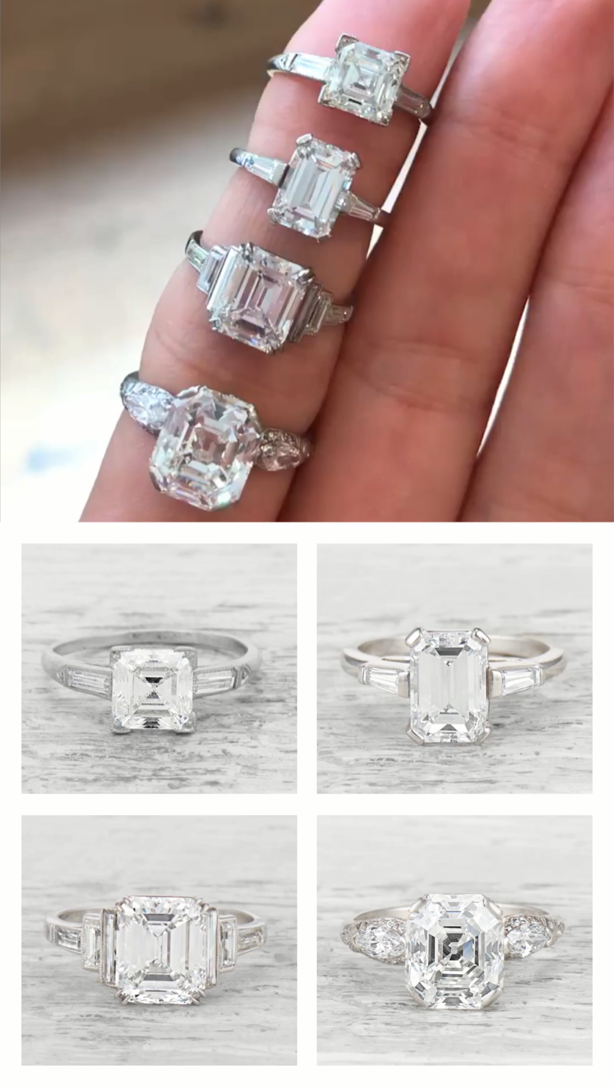 Pin On Art Deco Engagement Ring