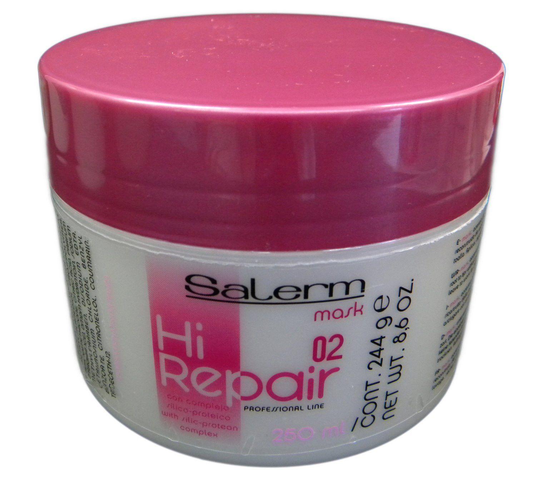 Salerm Hi Repair Mask 8.6 Ounce Hair repair, Hair care