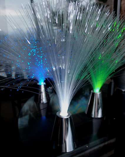 Fiber Optic Centerpieces
