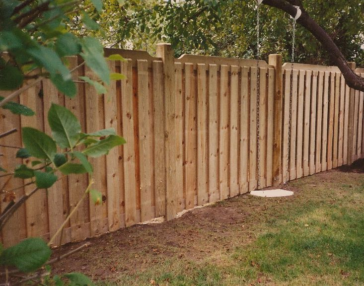 Numerous different thumbnail photos of privacy wood fence designs