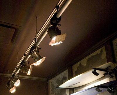 Custom designed track lights created for Hollister retail stores. For more information visit  & Custom designed track lights created for Hollister retail stores ...