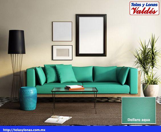 Dollaro verde aqua Nuestros colores Pinterest Aqua - Wohnzimmer Design Wandfarbe Grau