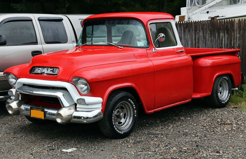 1955 Gmc 150 Pickup 152 8 Chevrolet Task Force Wikipedia The Free Encyclopedia