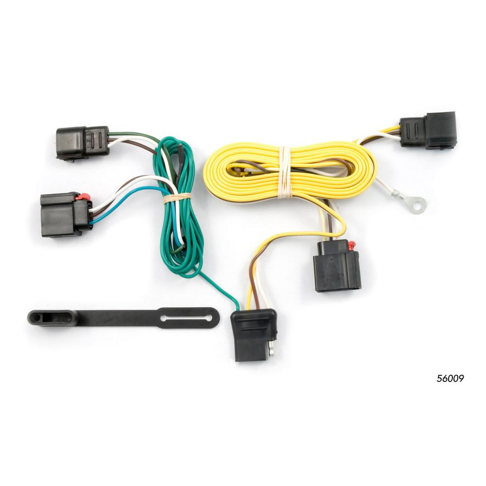 small resolution of curt custom wiring harness 4 way flat output