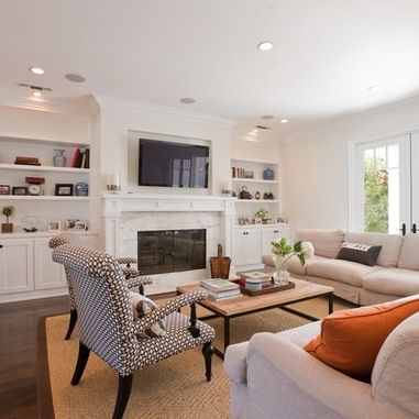 Built In Media Center Design Ideas, Pictures, Remodel and Decor