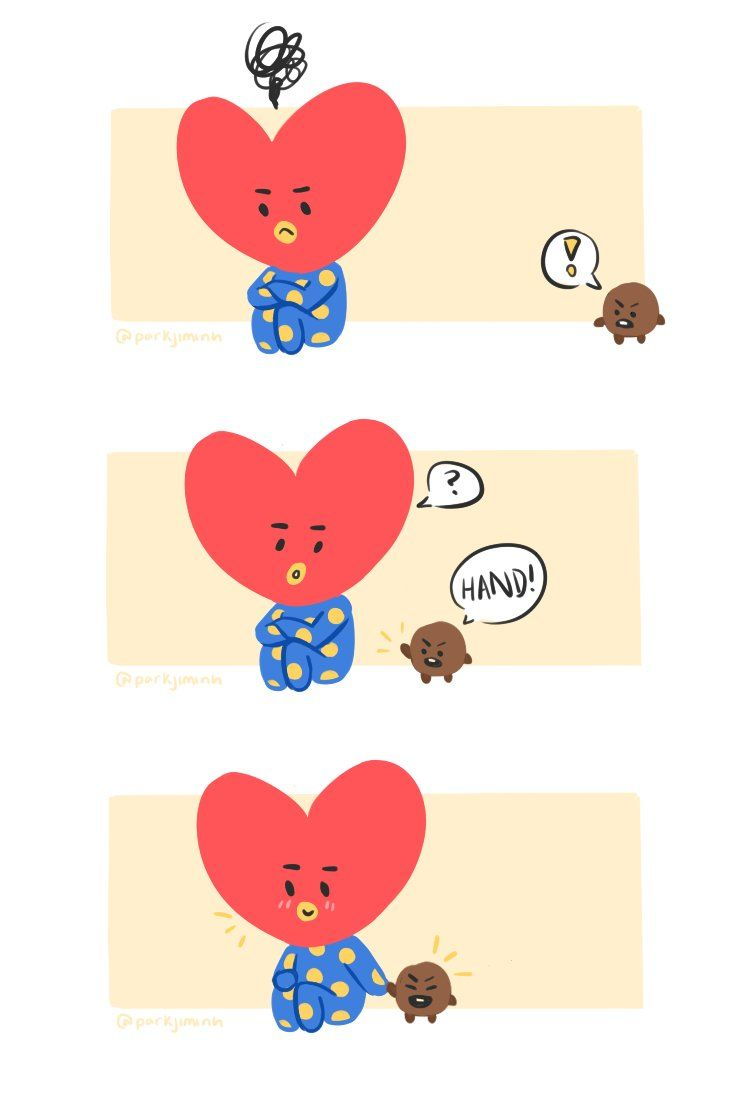 Tata And Shooky Taehyung V And Yoongi Suga Taegi