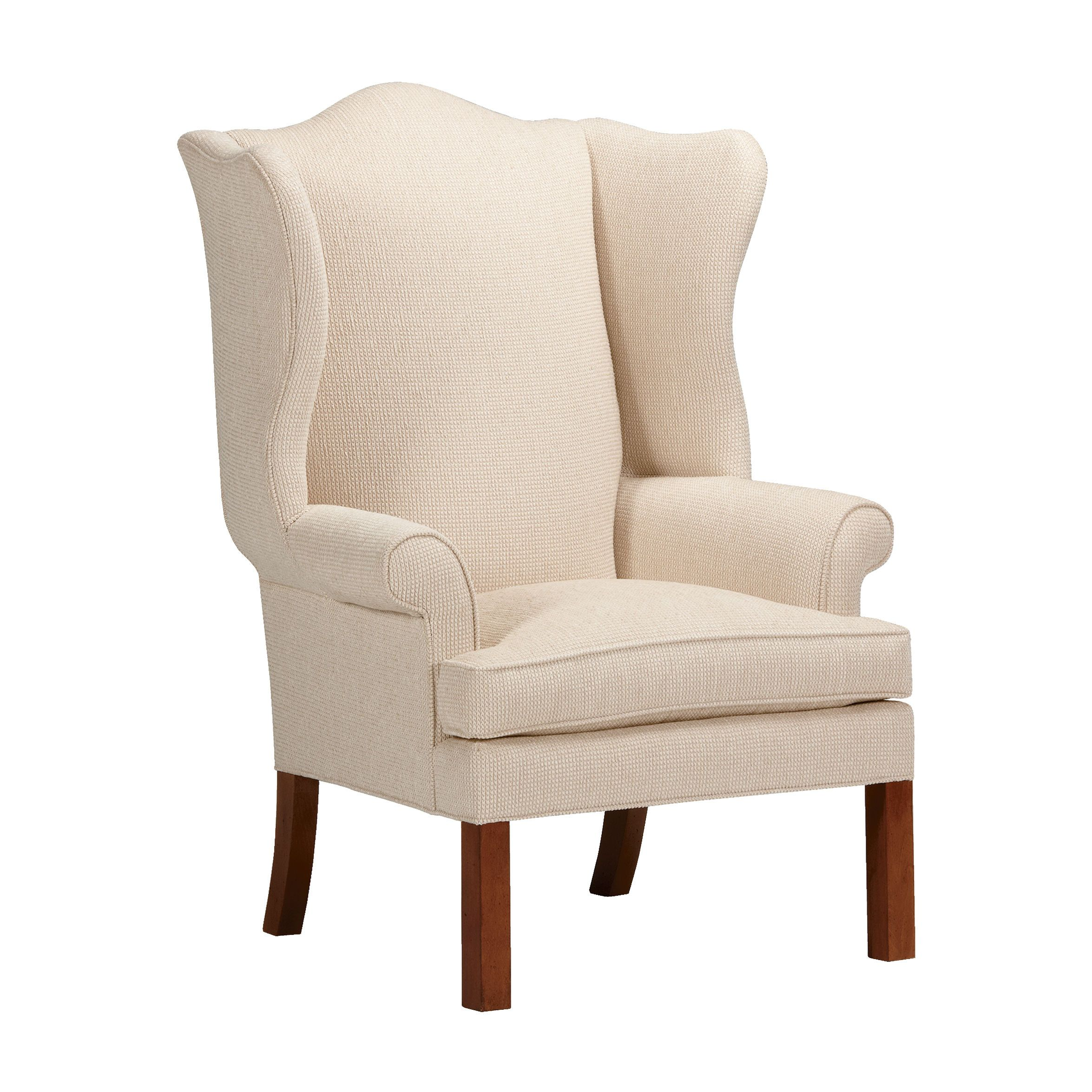 Neutral Interiors Montville Chair Ethan Allen Us Wing Chairs