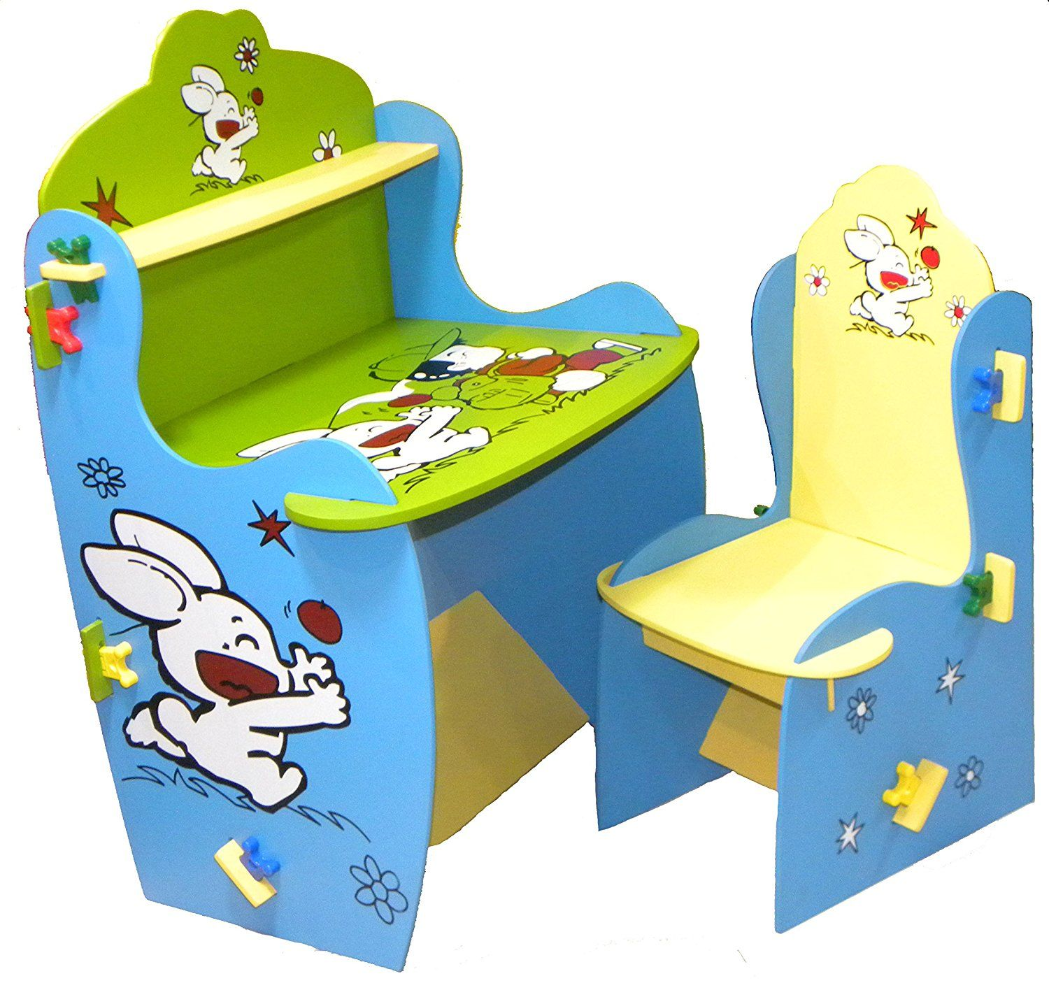 Wood O Plast Knock Down Kids Study Table Chair Set - Best Home and ...