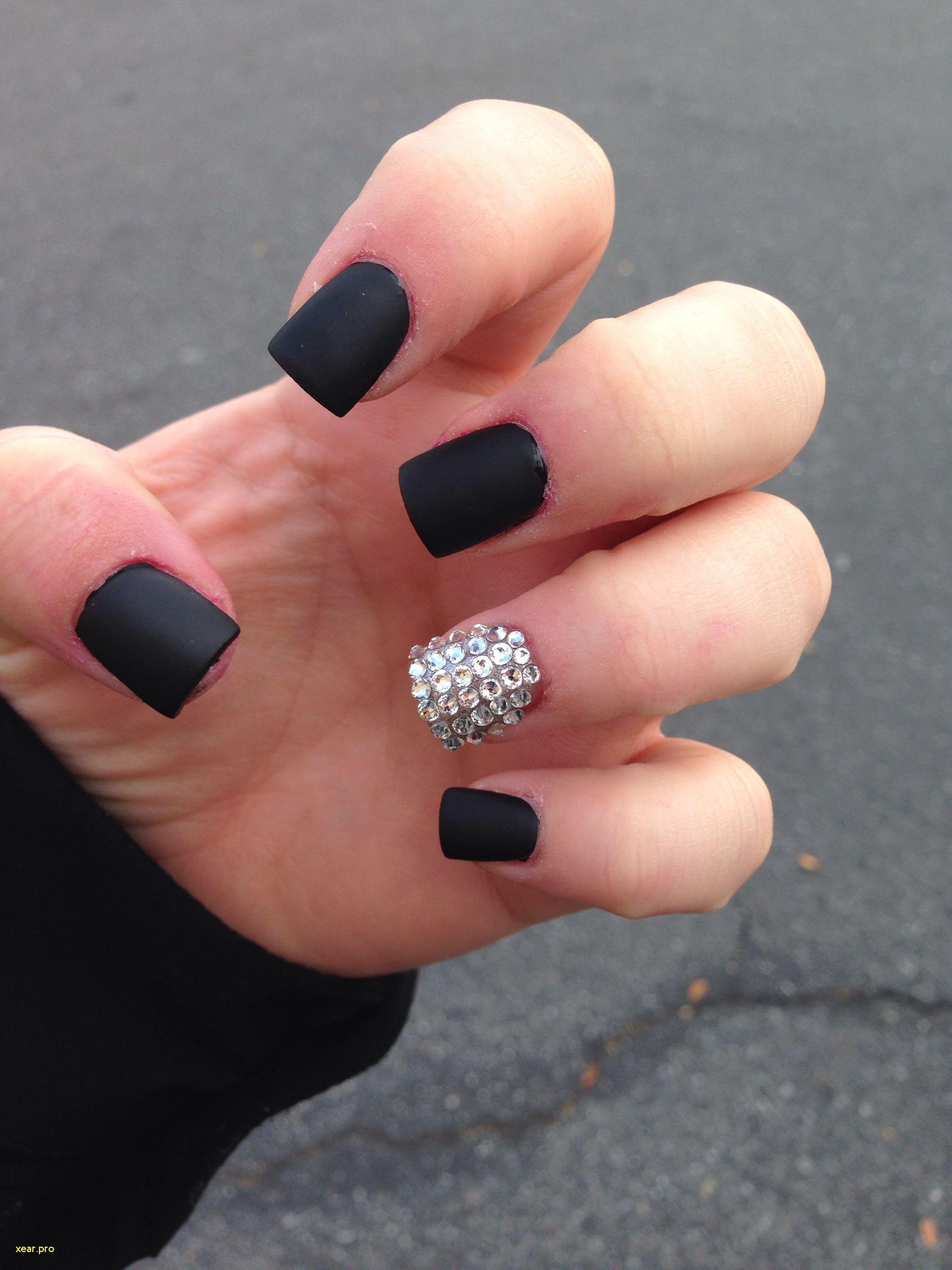Elegant Nail Designs One Finger Different Matte Nails Design Matte Black Nails Matte Nails