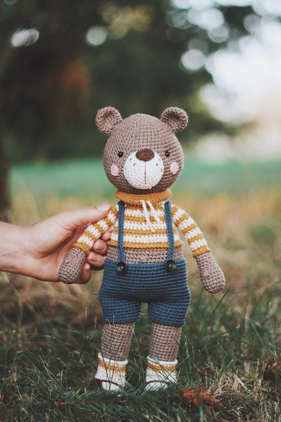 Crochet Pattern Bear Pattern Amigurumi Bear Family Tutorial