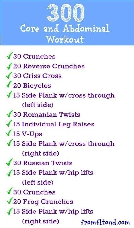 Looks Like A Good Core Workout