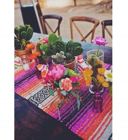 coup de projecteur sur la tendance d coration mexicaine d corations de table originaux et table. Black Bedroom Furniture Sets. Home Design Ideas