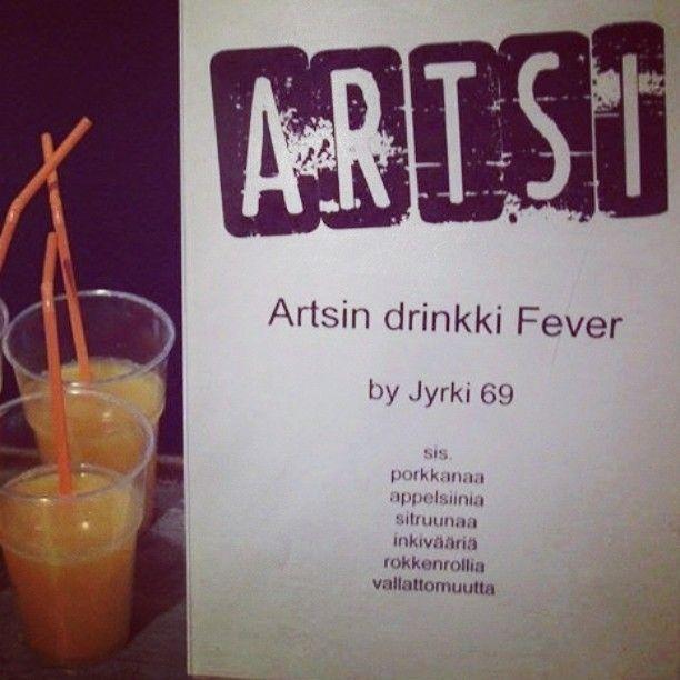 Artsin drinkki  #artsimuseo #myyrmäki #vantaa #drinkki #jyrki69