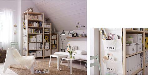 Offenes Regal Selber Verkleiden Von Ikea Ivar