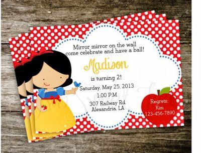 Fiesta Infantil de Blanca Nieves y los Siete Enanos