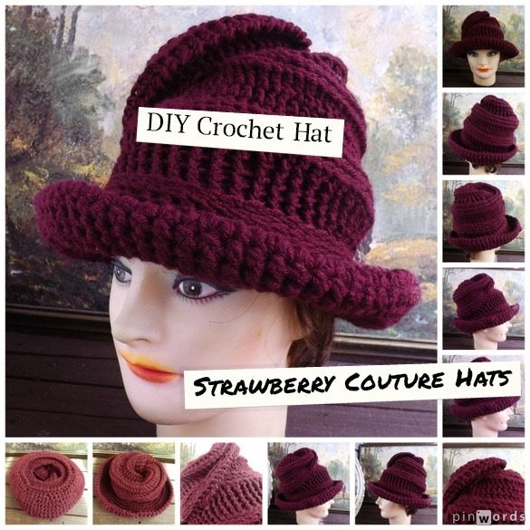 DIY Crochet Hat | Stricken | Pinterest | Stricken und Handarbeit