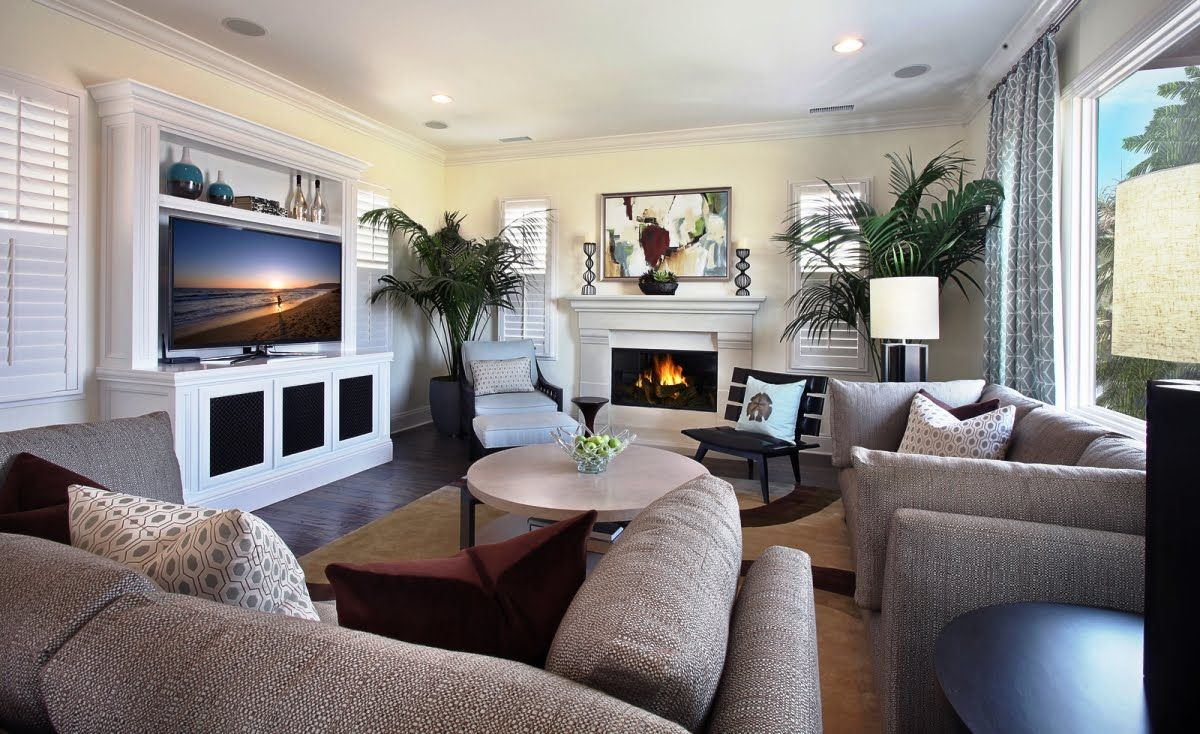 Designing A Living Room With A Fireplace And Tv Living Room Furnitureliving Room White Furniture Modern