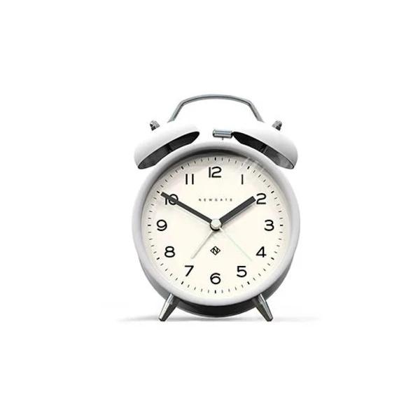 Rise And Shine Alarm Clock In White In 2020 Alarm Clock Clock Modern Alarm Clock