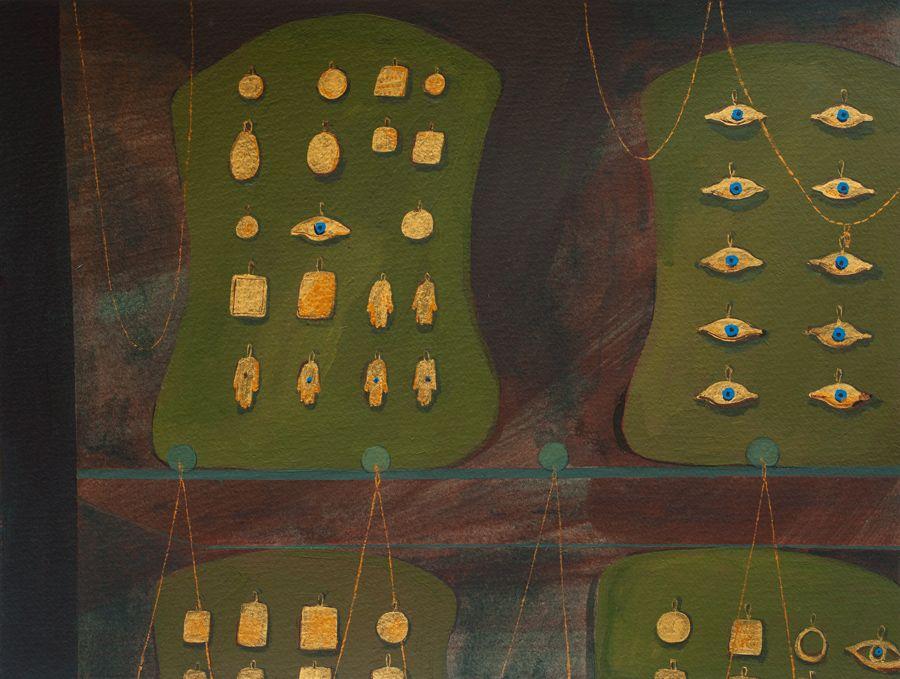 Οι χρυσές βιτρίνες της Φαρίντα ελ Γκαζάρ  LiFO