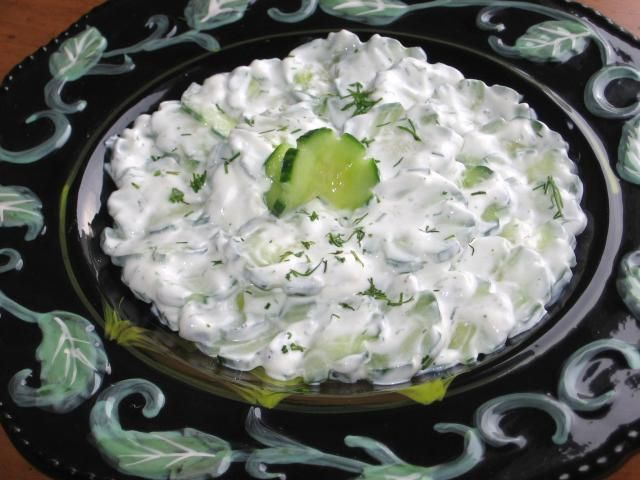 This Cooling Polish Cucumbers In Sour Cream Has An Interesting Name Recipe Sour Cream Cucumbers Sour Cream Recipes Recipes