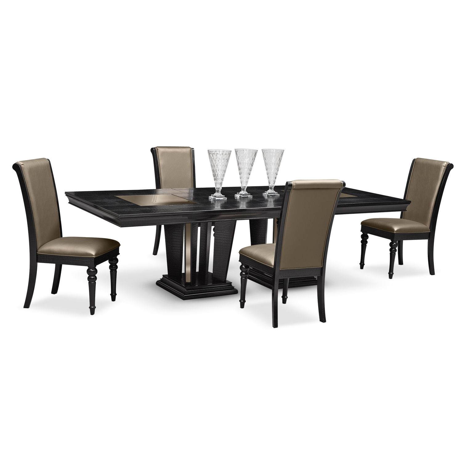 dining room furniture paradiso 5 pc dinette shop now dining rh pinterest nz