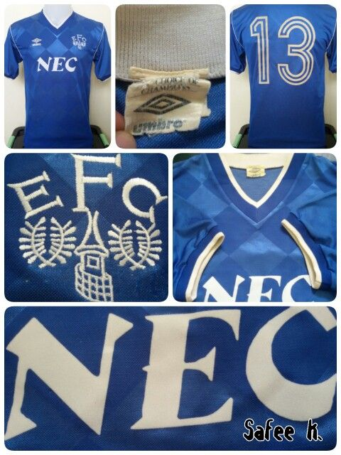 Everton 1986 1989 Home