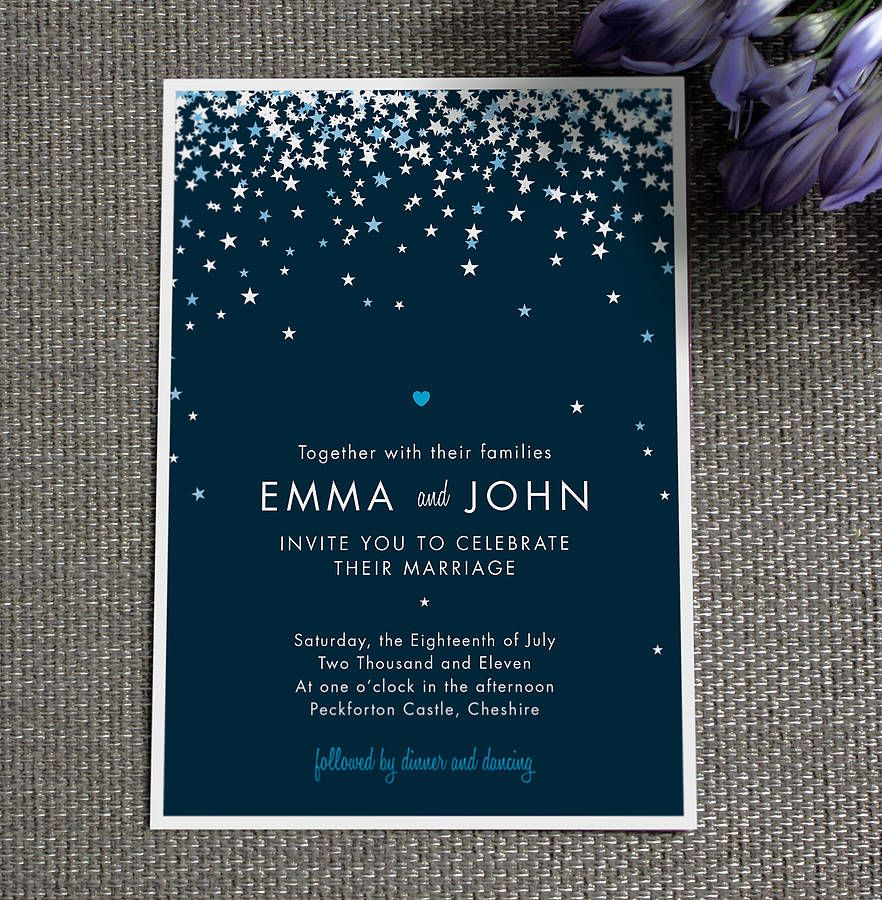 bella wedding invitation by project pretty | notonthehighstreet.com