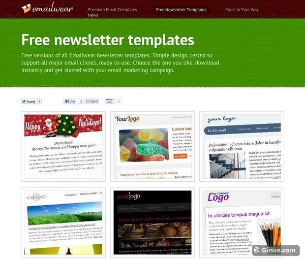 Download Free Html Email Newsletter Templates Software Digital