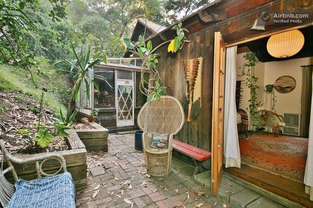 Los Angeles Vacation Rentals Villas Laurel Canyon Hippie House Cute Bedroom Decor