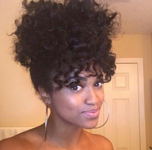 Curly High Ponytail Bangs Black Wedding Hairstyles Hair Beauty Wedding Hairstyles