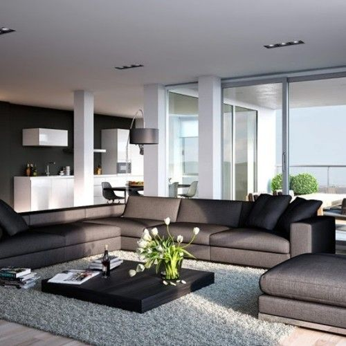12 ideas de decoración con gris oscuro. para la decoración de la ...