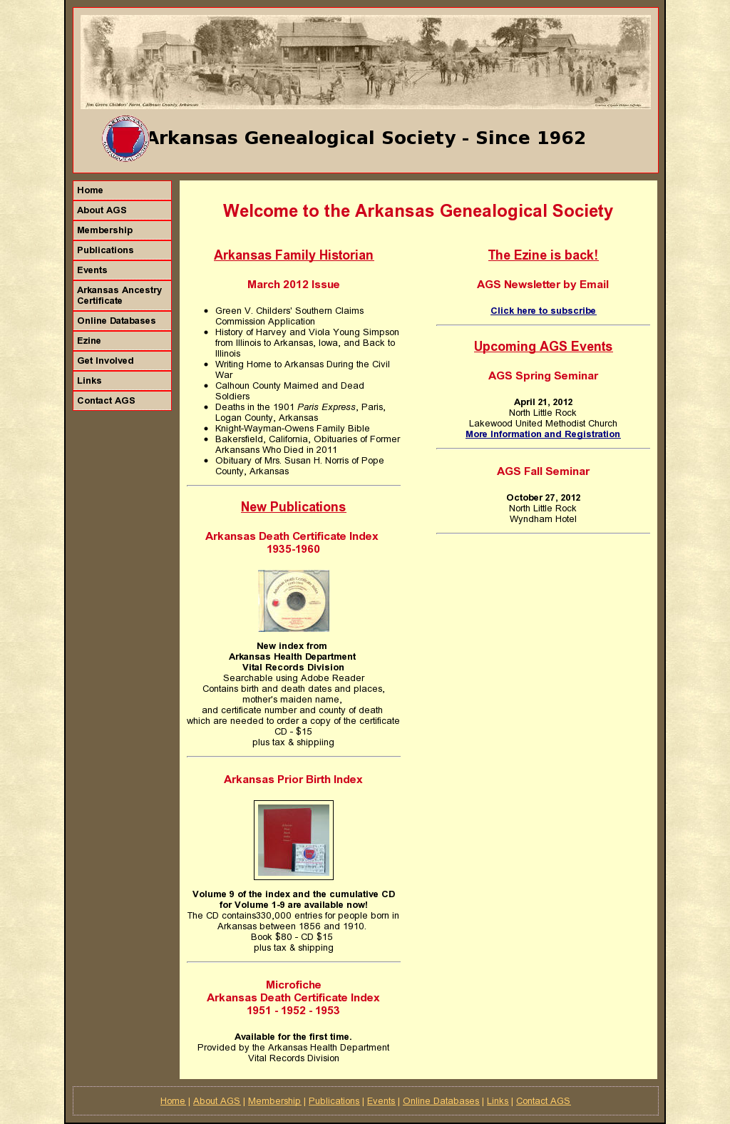 Arkansas Genealogical Society Httpagsgenealogy Snapped