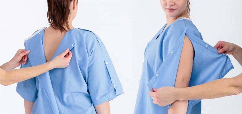 parsons design the future of new hospital gowns in collaboration ...