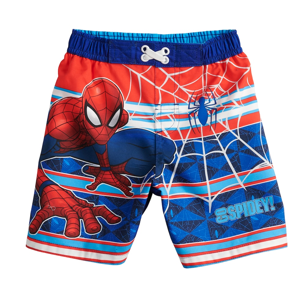 2ee4643a53e37 Toddler Boy Marvel Spider-Man Swim Trunks in 2019 | Products | Man ...