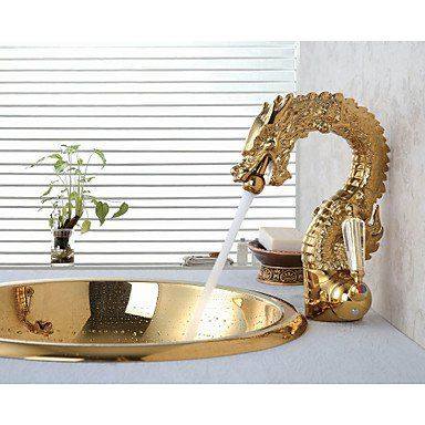 Zyt High End Luxury Series Of Pure Hand Made Brass Dragon Shape