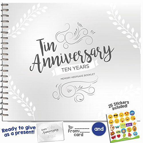 10 Year Wedding Anniversary Gift Ideas For Couple: 10TH ANNIVERSARY GIFTS FOR COUPLES BY YEAR Ten Year