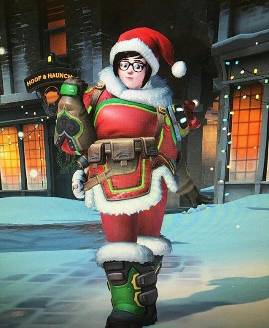 Over Watch 2020 Christmas Overwatch Mei Christmas skin 🎅❄ | Overwatch mei, Overwatch