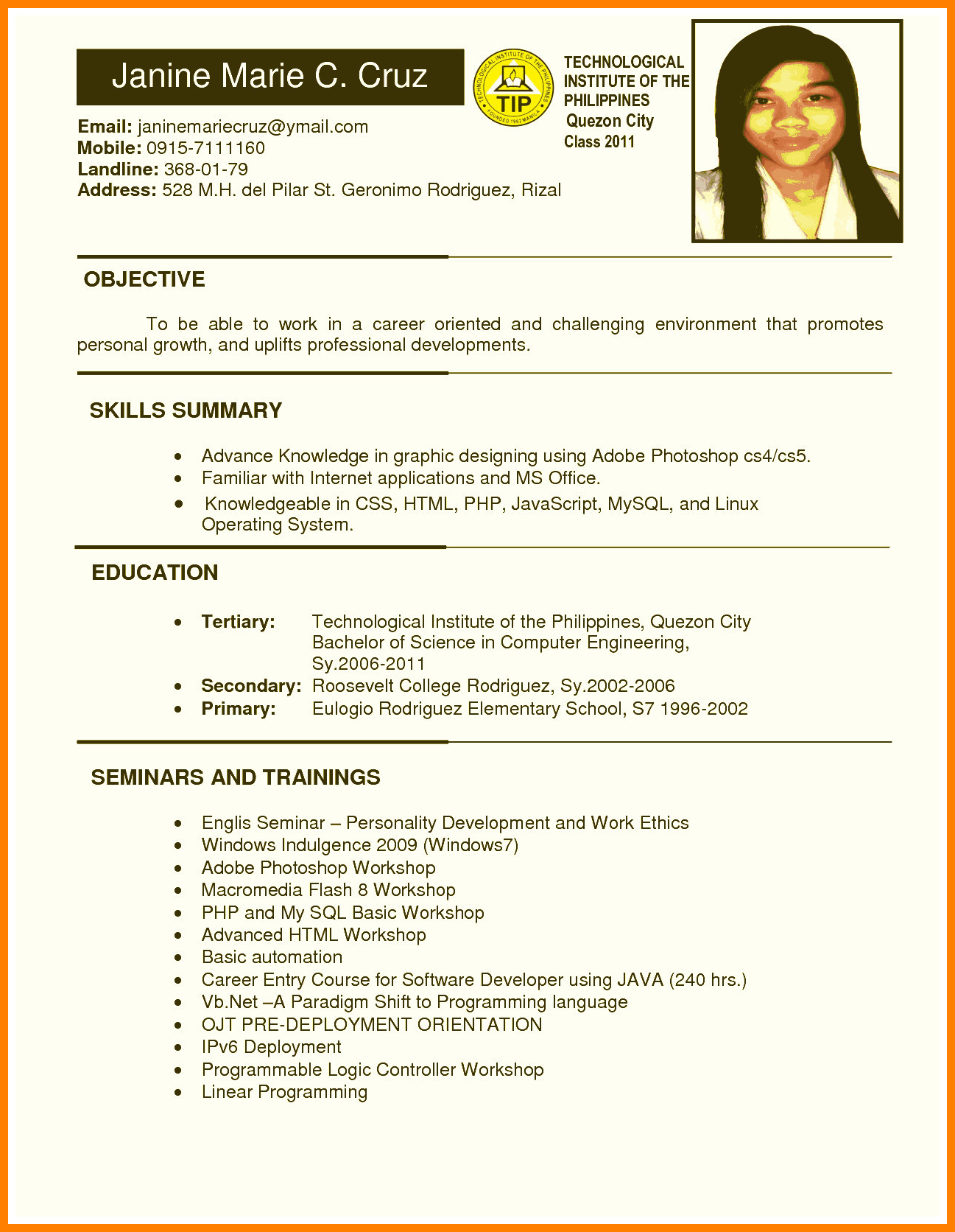 Resume Template College Student 3 Things To Expect When Attending Resume Template College St In 2020 Job Resume Format Resume Format Job Resume