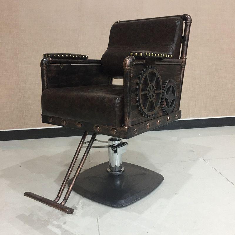 La Nouvelle Forg De Fer Coiffure Chaise Salons Coupe Cheveux Rtro Matriel