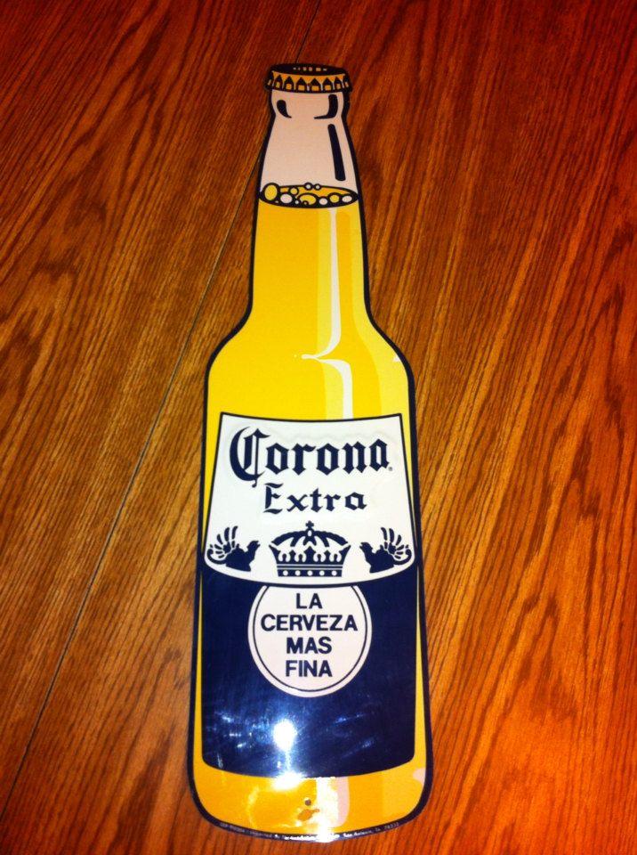 Corona Beer Vintage Beer Sign By Bmoreunique On Etsy 75 00 Vintage Beer Signs Vintage Beer Beer
