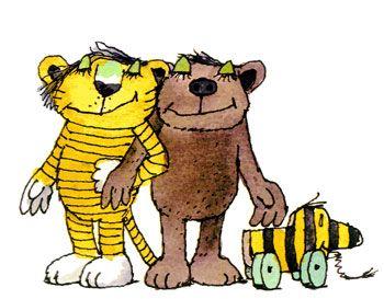 Janosch - Kleiner Bär und kleiner Tiger ️ Tiger und bär