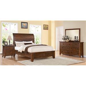 Modus International CALLY King Bedroom Group