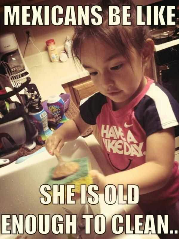 Funny Mexican Kid Meme : Jajajajaja this is my house put the girls to wash dishes