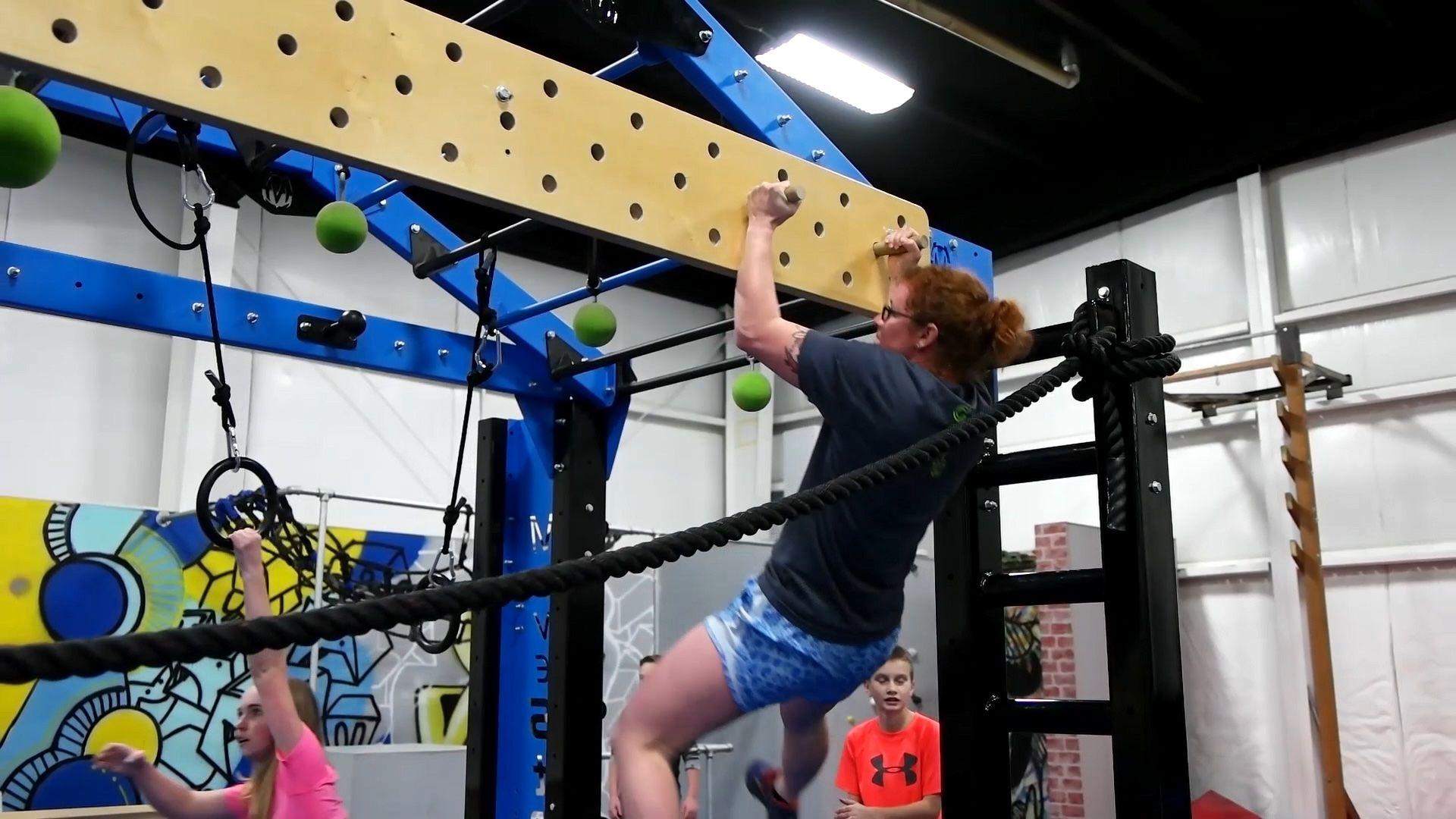 Peg Board Feature Offered On The Movestrong Nova Fts Models Home Gym Design Gym Design Ninja Warrior Course