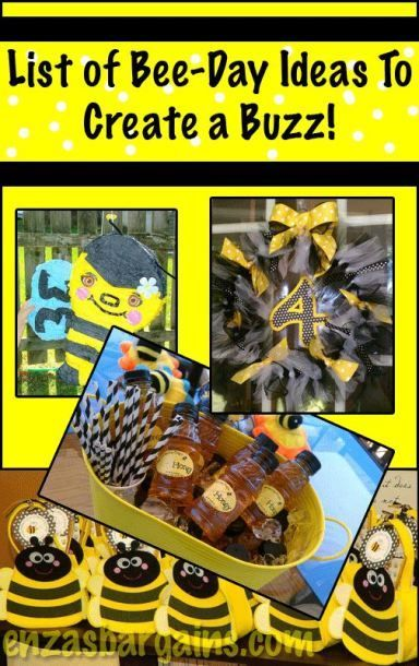 Bee Theme List Of Party Ideas An Entire To Make You BUZZ