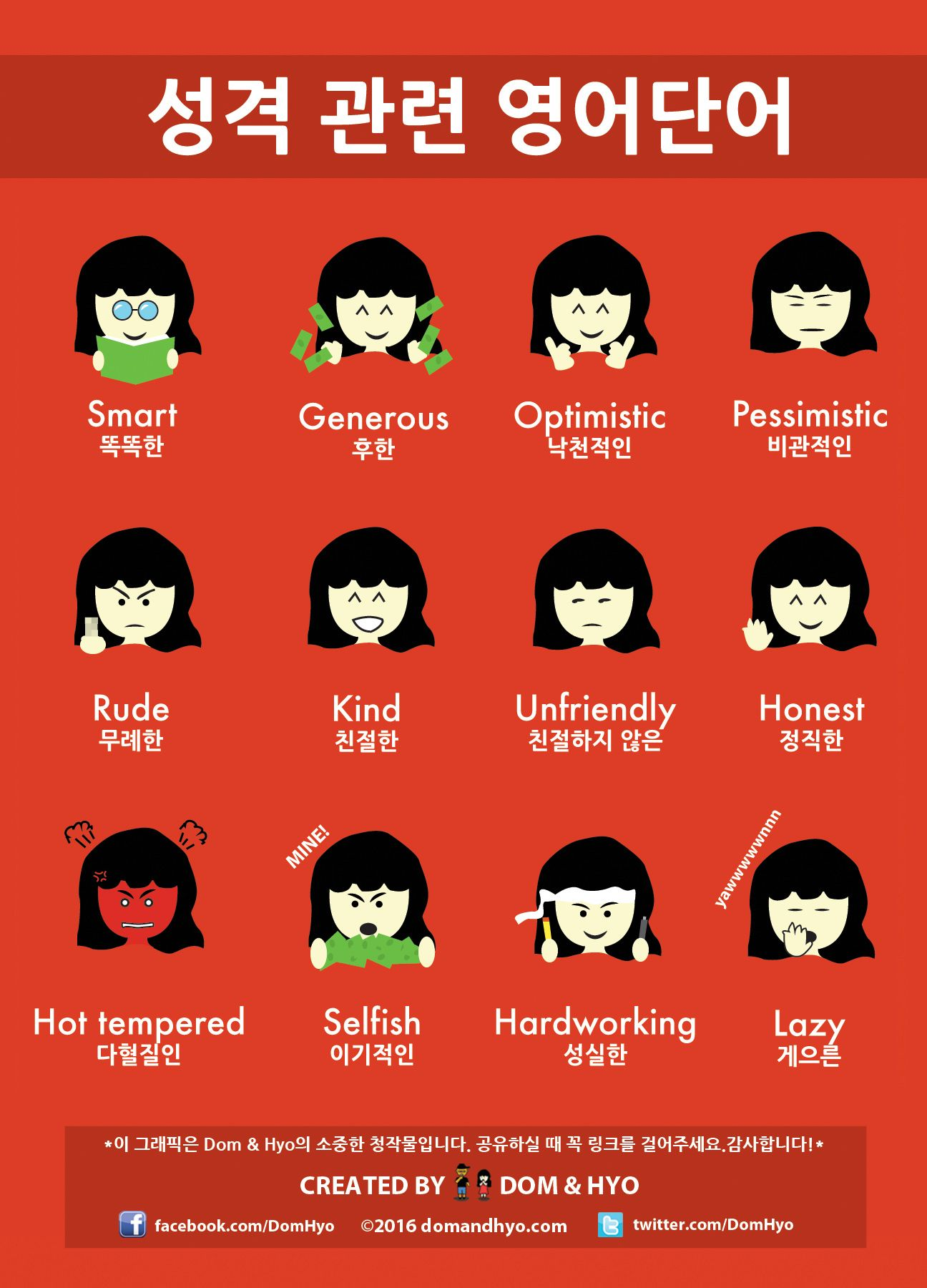 성격 관련 영어단어