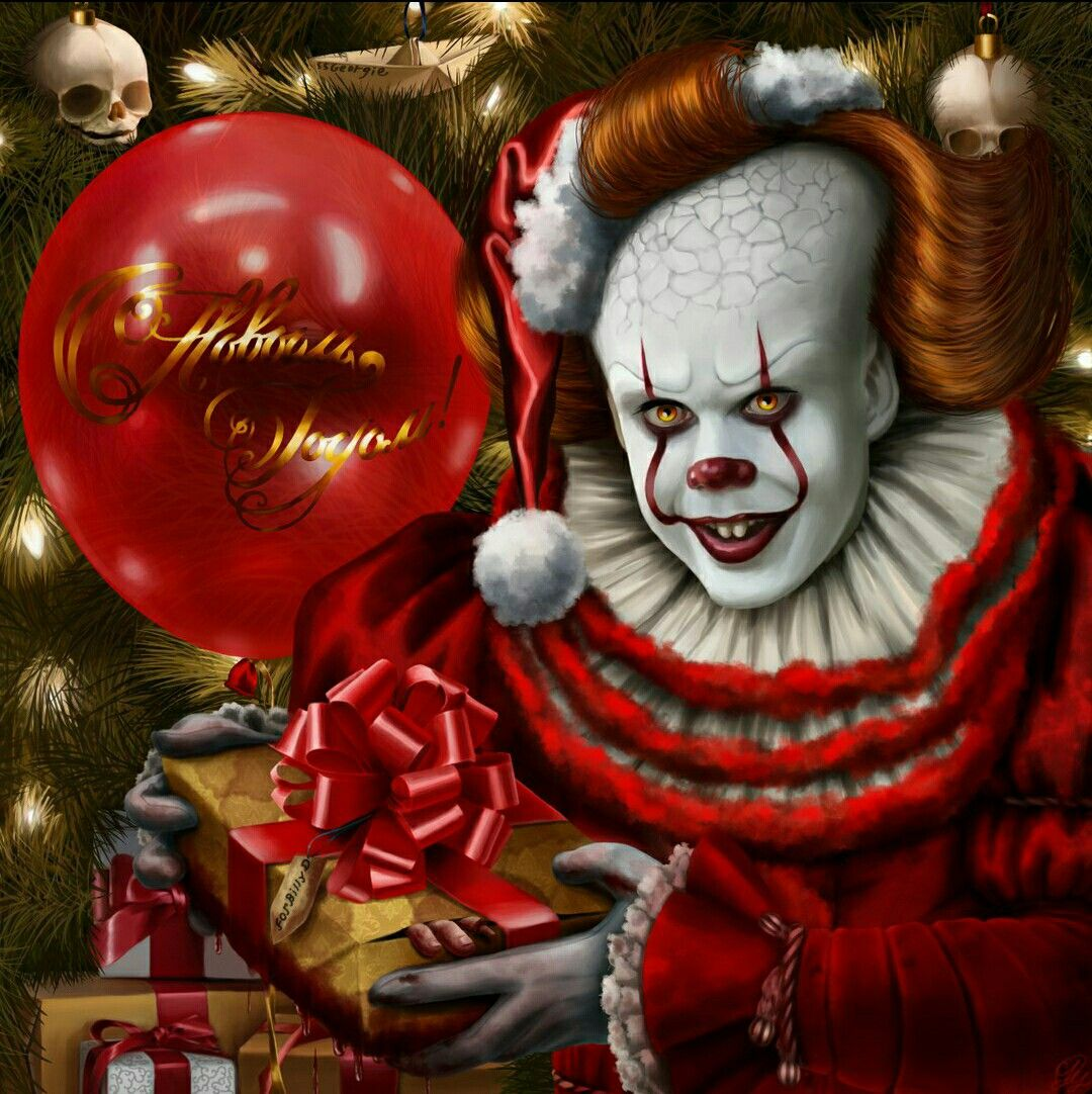 christmas wishes from bob grey pennywise it  christmas wishes from bob grey pennywise