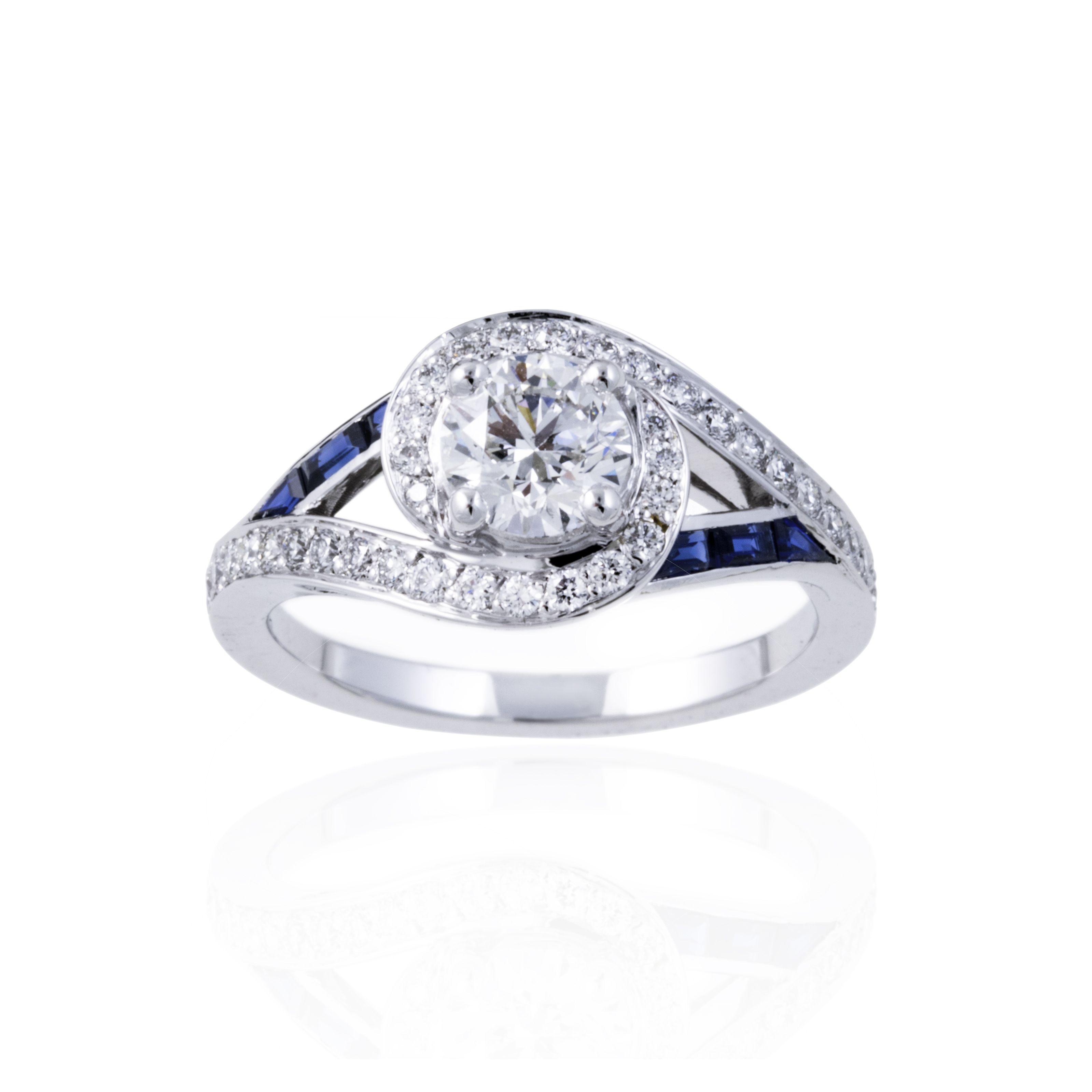 bague diamant 0 5