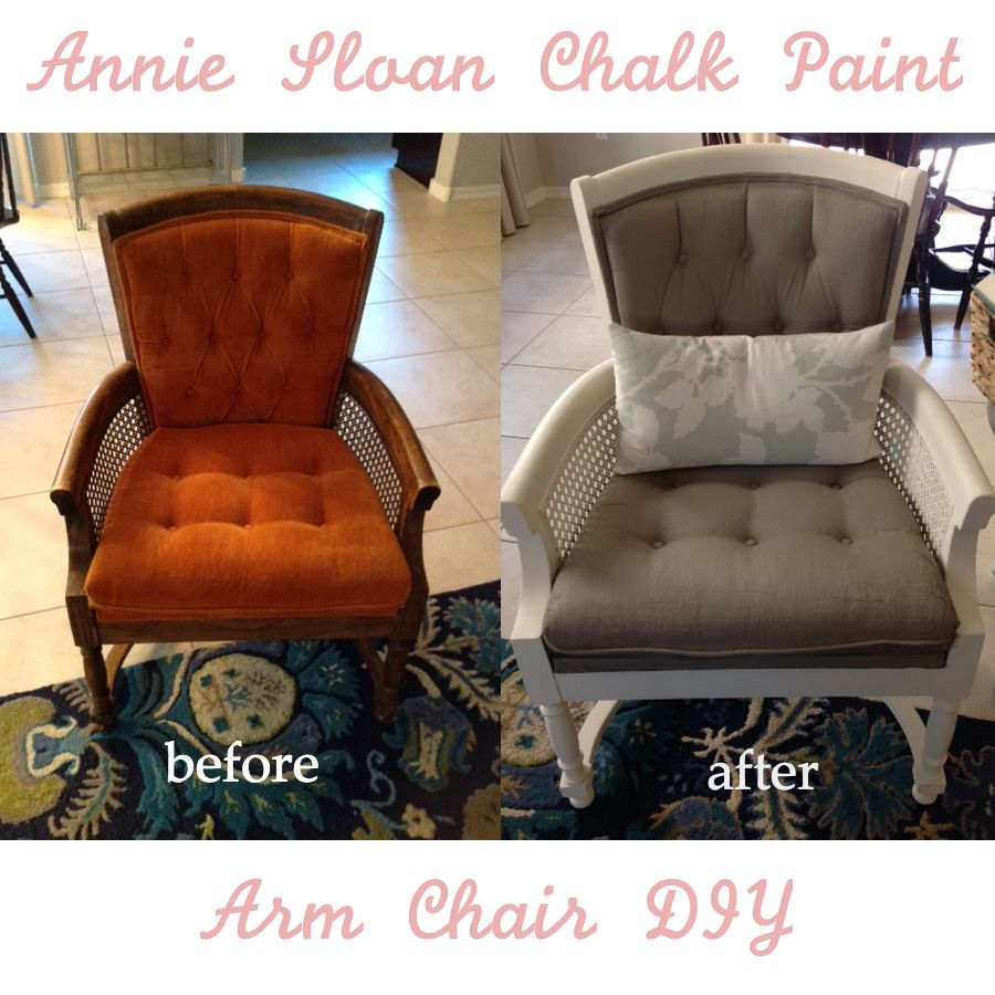 Annie Sloan Chalk Paint + Chairs Purchased On Craigslist